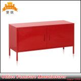 Carrinho Home vermelho da tevê da mobília da porta Bas-129 dois, gabinete da tevê