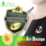 Preiswerte Qualitäts-kundenspezifische Großhandelspolizei-Militärmedaillepin-Abzeichen