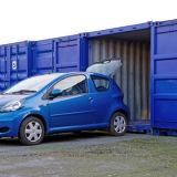 container aperto di immagazzinamento in il contenitore di memoria di auto del lato di 20FT 20hc