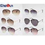 Plastic und Metall kombinierter Sonnenbrillen der Dame mit Wechselstrom-Objektiv Ks1082