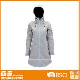 Lady's Softshell Customed Manteau de haute qualité