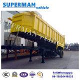 trasporto di carbone della sabbia di figura di 25-28cbm U che capovolge il rimorchio del deposito del ribaltatore