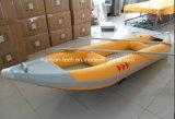 高品質1.2mm PVC膨脹可能なバナナボート