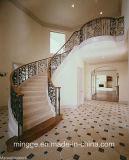 Manufatura profissional de corrimão da escada do aço inoxidável
