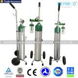 Trole ajustável do oxigênio do carro do cilindro de oxigênio do suporte do oxigênio da alta qualidade