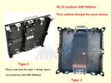 Die-Casting алюминиевая панель экран 500X500mm/500X1000mm P6.25mm напольный/крытый СИД видео-дисплей