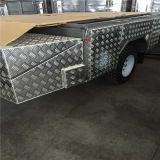 Плита Checkered штриховатости алюминиевая для пола