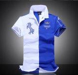 Des plus défunts les T-shirts de polo de piqué de coton de la mode hommes de modèle avec l'étiquette faite sur commande
