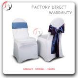 Housse de chaise décorative Spandex design jaune (YT-29)