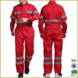 オレンジ赤反射テープこんにちは気力の保護全面的なWorkwearの安全スーツ