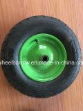 Landwirtschaftliche Hilfsmittel-haltbarer schwarzer ökonomischer Schubkarre-Reifen 4.00-8 mit Felge