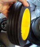 Des Zoll-16*2 freier halb pneumatischer Gummischlag-formenrad flach