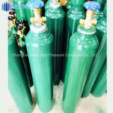 Cilindro de oxigênio 10L com tampa e válvula ou alça plástica