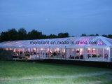 Grande parte Retângulo Permanente transparente tenda Hotsale de casamento