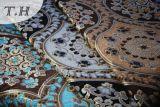 2016 colorido grande de la serie de chenilla jacquard Sofá de la tela