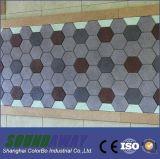 Copeaux de bois - écran antibruit décoratif intérieur