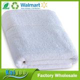 贅沢な体操の100%年のRingspunの綿の浴室タオル(白、30X56インチ)