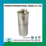 Capacitor da C.A. da caixa Cbb65 5-100UF do metal da Oval-Forma