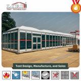 De Tent van de Koepel van de luxe met de Zijwand van pvc en het Dak van pvc van Tent Liri