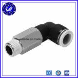 Conexión rápida de plástico de montaje del tubo neumático mixto