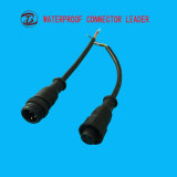 屋外ケーブルねじ防水コネクターをつける3pin 4pin 5pin LED