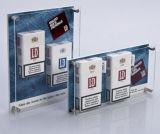 Crémaillère d'étalage acrylique de cigarette de qualité
