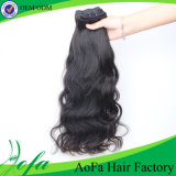 7A Grade Natural Wave Hair Virgin Human Hair Extension