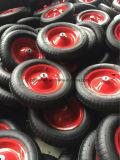 La gomma pneumatica della carriola Pr3007 spinge la rotella del carrello del carrello