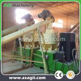 Floresta eficiente de madeira de pinho serradura de madeira de biomassa a linha de produção de pelotas