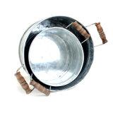 Craft olla de metal de zinc para jardín sembradora/Casa Ware