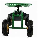 Chariot de portée de travail de chariot de jardin de roulement