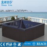 Side-by-Type de sièges du côté de l'acrylique hydro massage-3368 un bain à remous (M)