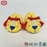 Zapatos de bebé Amarillo León pie de apoyo lindos regalo peluche zapatos