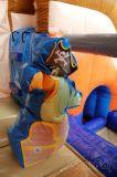 Petit bateau de pirates Inflatable Bounce House Combo CH726