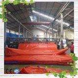 満足な価格のトラックカバーのためのPVC/PEによって薄板にされる防水シート