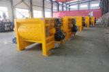 De nieuwe Tweeling Concrete Mixer 0.5m3 van de Schacht Js500 met Vultrechter ISO9001 van Professionele Fabrikant