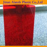 fornecedor plástico acrílico da folha da cor do espaço livre de 3mm