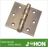 """鋼鉄または鉄のドアのハードウェアのシャワーの締める物のヒンジ(3.5 """" X3.5 """")"""