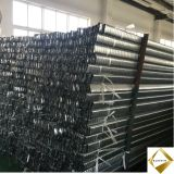 Galvanisierter Stahlstreifen für die Herstellung der gewölbten Leitungen