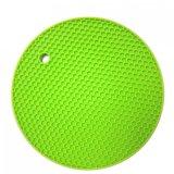 Round Silicone Non-Slip resistente ao calor Titular do pote de panela