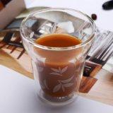 Creative Espresso tasse tasse de Café Latte à double paroi en verre borosilicaté tasse de café cappuccino