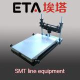 Imprimante manuelle de pochoir de carte de doubles côtés de précision