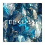 Fabrik-Kobalt-Blau-Glas-Felsen