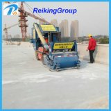 Horizontaler Stahlplatten-Rostbeseitigung-Reinigungs-Granaliengebläse-Maschinen-Preis