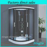 Porte coulissante en verre trempé salle de douche à vapeur (920)