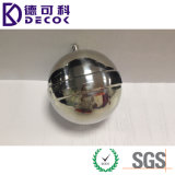 сферы сада шариков нержавеющей стали 10cm плавая металл пруда декоративный