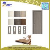 WPC de plástico de PVC de la puerta de la ventana de tablón de madera que hace la máquina extrusora
