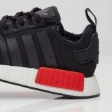 Le meilleur la vente de la couleur noire et rouge Nmd folâtre des chaussures avec la meilleure qualité