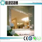 Décoration maison Silver Miroir rectangulaire avec Châssis MDF
