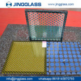 Segurança de construção personalizada de vidro colorido de vidro de Impressão Digital de vidro colorido melhor China